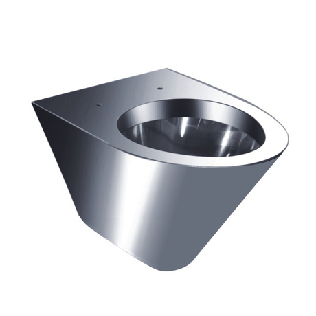 stainless steel wall hang toilet