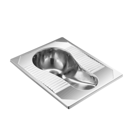 Stainless Steel Vacuum Squatting Pan