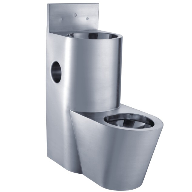 Stainless Steel Combination Toilet Pan