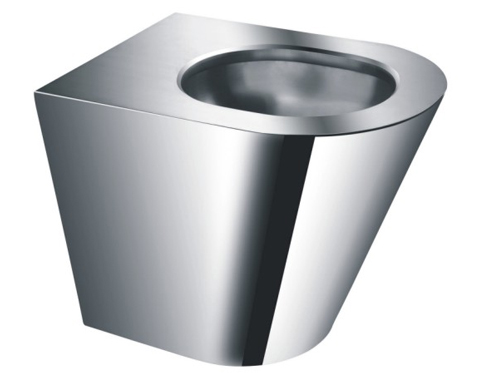 Nice price high quality stainless steel dual flush toilet